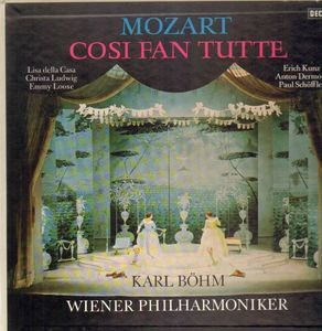Wolfgang Amadeus Mozart - Cosi fan tutte (Karl Böhm)