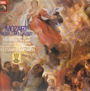 Crass - Messe C-Moll KV 427 / W. Gönnenwein
