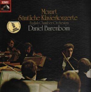 Wolfgang Amadeus Mozart - Sämtliche Klavierkonzerte; English Chamber Orchestra, Barenboim