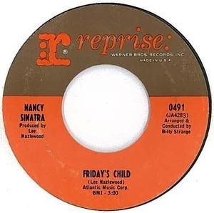 Nancy Sinatra - Friday's Child / Hutchinson Jail