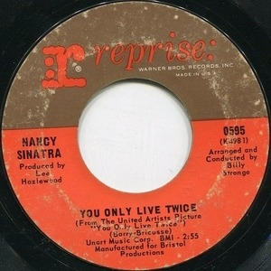 Nancy Sinatra - You Only Live Twice / Jackson