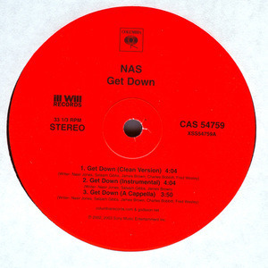 Nas - Get Down