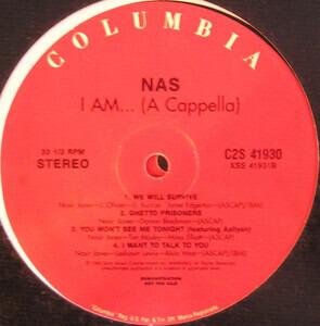 Nas - I Am... (A Cappella)