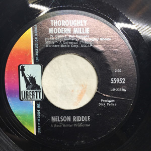 Nelson Riddle - Thoroughly Modern Millie / See The Cheetah