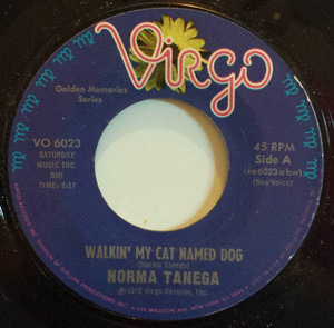 Norma Tanega - Walkin' My Cat Named Dog