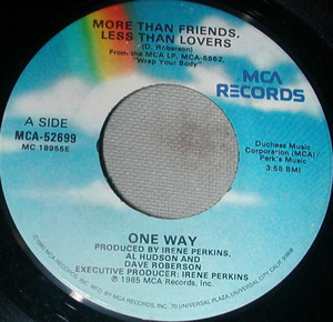 One Way - More Than Friends, Less Than Lovers