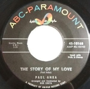 Paul Anka - THE STORY OF MY LOVE