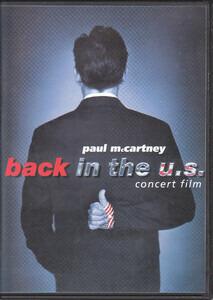 Paul McCartney - Back In The U.S. - Concert Film