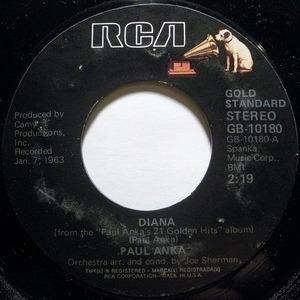 Paul Anka - Diana / Put Your Head On My Shoulder