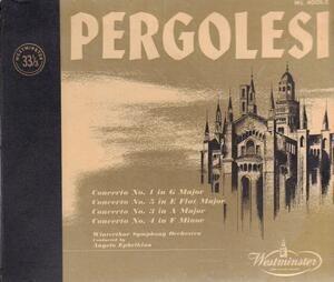 Giovanni Pergolesi - Concertos Nr 1,3,4,5