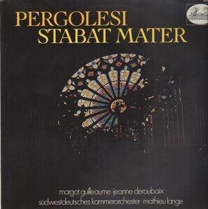 Giovanni Pergolesi - Stabat Mater,, mathieu lange, südwestdeutsches kammerorch
