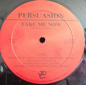 The Persuasion - Take Me Now