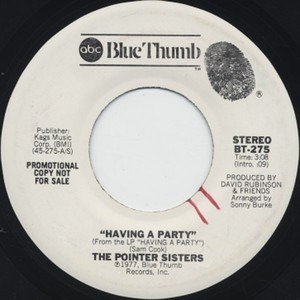 The Pointer Sisters - Having a Party