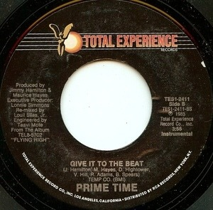 Prime Time - Give It To The Beat
