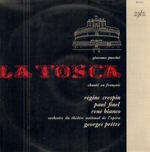 Giacomo Puccini - La Tosca Chanté En Francais