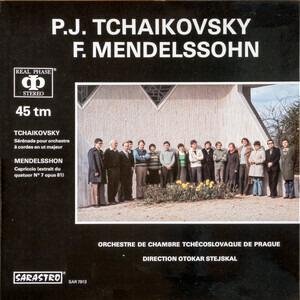Pyotr Ilyich Tchaikovsky - Sérénade Pour Orchestre À Cordes En Ut Majeur / Capriccio (Extrait Du Quatuor N°7 Opus 81)