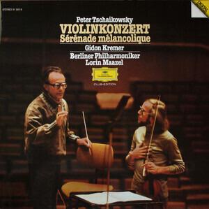 Pyotr Ilyich Tchaikovsky - Violinkonzert, Sérénade Mélancolique
