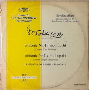 Pyotr Ilyich Tchaikovsky - Sinfonie Nr. 4 F-Moll Op. 36 / Sinfonie Nr. 5 E-Moll Op. 64