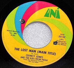 Quincy Jones - The Lost Man / Main Squeeze