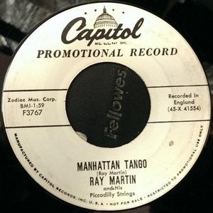 Ray Martin - Manhattan Tango / Heladero