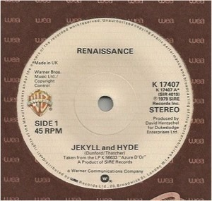 Renaissance - Jekyll And Hyde