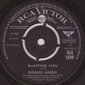 Richard Harris - MacArthur Park