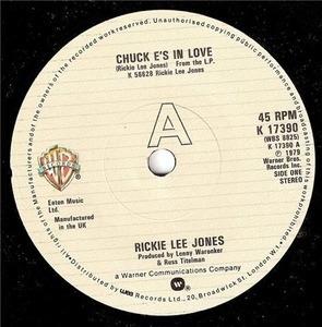 Rickie Lee Jones - Chuck E.'s In Love