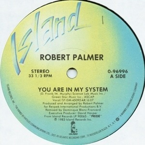 Robert Palmer - You Are In My System