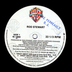 Rod Stewart - Crazy About Her