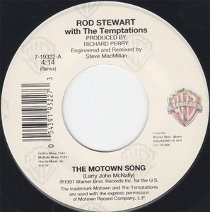 Rod Stewart - The Motown Song