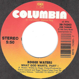 Roger Waters - What God Wants, Part 1