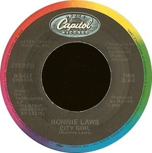 Ronnie Laws - City Girl