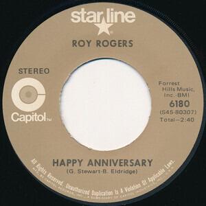 Roy Rogers - Happy Anniversary / Lovenworth