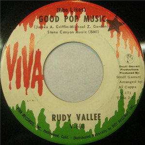 Rudy Vallée - (Who Likes) Good Pop Music