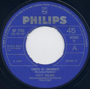 Scott Walker - Lights Of Cincinnati