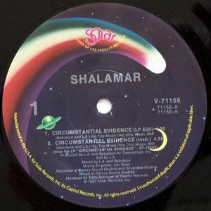 Shalamar - Circumstantial Evidence