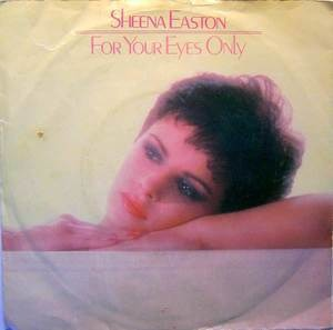 Sheena Easton - For Your Eyes Only / For Your Eyes Only (Instrumental)