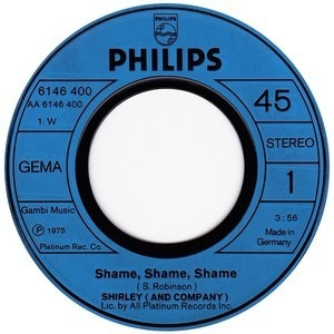 Shirley and Company - Shame, Shame, Shame
