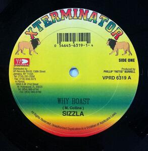 Sizzla - Why Boast / Healing In The Street