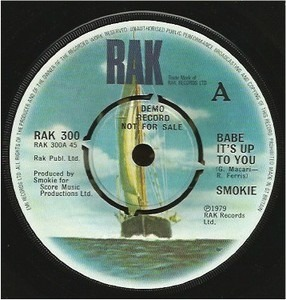 Smokie - Babe It's Up To You