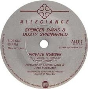 Spencer Davis - Private Number / Don't Want You No More