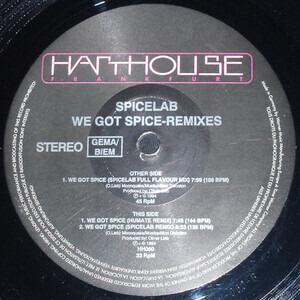 Spicelab - We Got Spice - Remixes
