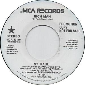 st. paul - Rich Man