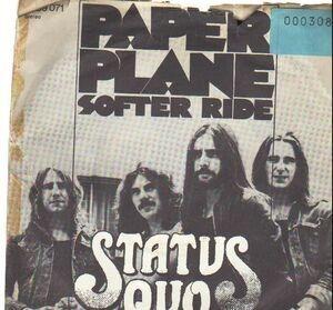 Status Quo - Paper Plane