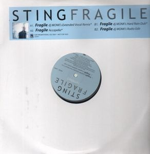 Sting - Fragile - Remixes
