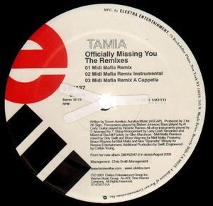 Tamia - Officially Missing You (The Remixes)