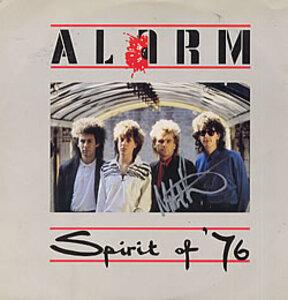 The Alarm - Spirit Of '76