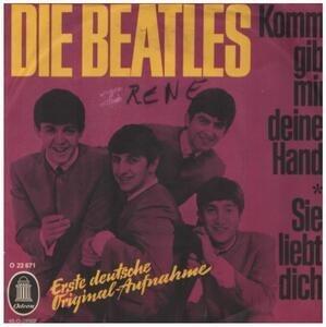 The Beatles - Komm Gib Mir Deine Hand / Sie Liebt Dich