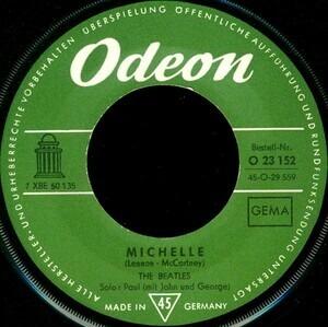 The Beatles - Michelle / Girl