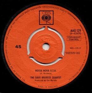 Dave Brubeck Quartet - Bossa Nova U.S.A / This Can't Be Love